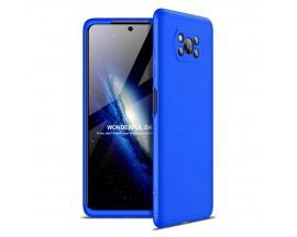 Husa 360 Grade Upzz Protection Pentru Xiaomi Poco X3 Nfc  Albastru
