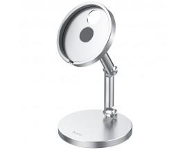 Suport Hoco Pentru Incarcator Magsade, Aluminiu Silver