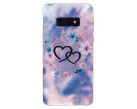 Husa Silicon Soft Upzz Print Compatibila Cu Samsung Galaxy S10e Model Love