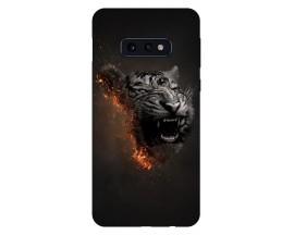 Husa Silicon Soft Upzz Print Compatibila Cu Samsung Galaxy S10e Model Tiger