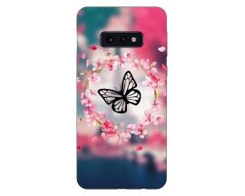 Husa Silicon Soft Upzz Print Compatibila Cu Samsung Galaxy S10e Model Butterfly