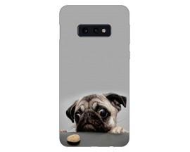 Husa Silicon Soft Upzz Print Compatibila Cu Samsung Galaxy S10e Model Dog