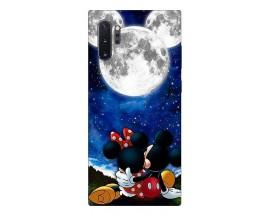 Husa Silicon Soft Upzz Print Compatibila Cu Samsung Galaxy Note 10+ Plus Model  Moon