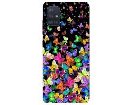 Husa Silicon Soft Upzz Print Compatibila Cu Samsung Galaxy A71 5G Model Colorature