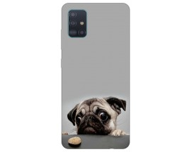Husa Silicon Soft Upzz Print Compatibila Cu Samsung Galaxy A71 5G Model Dog