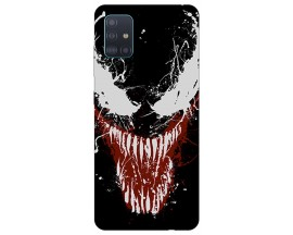 Husa Silicon Soft Upzz Print Compatibila Cu Samsung Galaxy A71 5G Model Monster