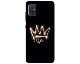 Husa Silicon Soft Upzz Print Compatibila Cu Samsung Galaxy A71 5G Model Queen