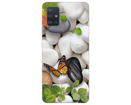 Husa Silicon Soft Upzz Print Compatibila Cu Samsung Galaxy A71 5G Model Zen