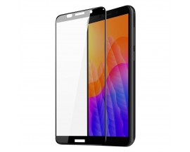 Folie Sticla Securizata DuxDucis Compatibila Cu Huawei Y5p, Full Glue - Case Friendly