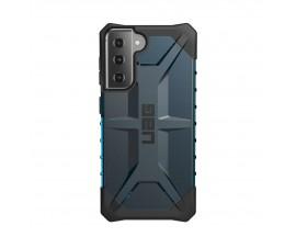 Husa Premium Urban Armor Gear Plasma Pentru Samsung Galaxy S21, Albastru Transparent