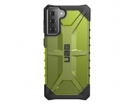 Husa Premium Urban Armor Gear Plasma Pentru Samsung Galaxy S21 Plus, Verde Transparent