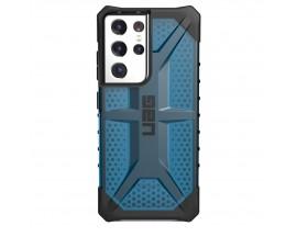 Husa Premium Urban Armor Gear Plasma Pentru Samsung Galaxy S21 Ultra, Albastru Transparent