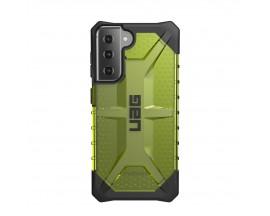 Husa Premium Urban Armor Gear Plasma Pentru Samsung Galaxy S21, Verde Transparent
