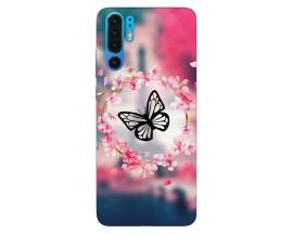 Husa Silicon Soft Upzz Print Compatibila Cu Huawei P30 Pro Model Butterfly