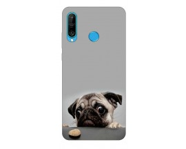 Husa Silicon Soft Upzz Print Compatibila Cu Huawei P30 Lite Model Dog