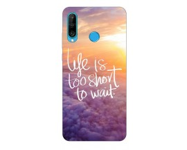 Husa Silicon Soft Upzz Print Compatibila Cu Huawei P30 Lite Model Life