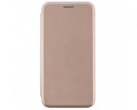 Husa Flip Carte Cu Magnet Lux Upzz Compatibila Cu Samsung Galaxy A02s, Piele Ecologica, Gold