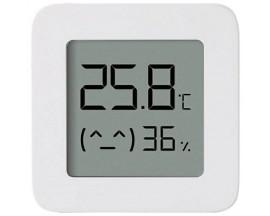 Senzor De Temperatura Si Umiditate Cu Bluetooth Marca Xiaomi, Afisaj Lcd, Alb