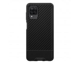 Husa Premium Spigen Core Armor Pentru Samsung Galaxy A12, Silicon, Negru