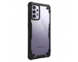 Husa Premium Ringke Fusion X Pentru Samsung Galaxy A72 5g, Transparenta Cu Rama Neagra