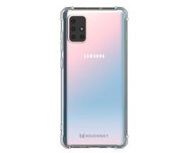 Husa Wozinsky Anti Shock Pentru Samsung Galaxy M51, Tehnologie Air Cusion, Transparenta