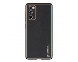 Husa Premium Duxducis Yolo Pentru Samsung Galaxy S20 Fe, Negru