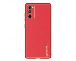 Husa Premium Duxducis Yolo Pentru Samsung Galaxy S20 Fe, Rosu
