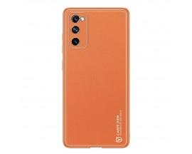 Husa Premium Duxducis Yolo Pentru Samsung Galaxy S20 Fe, Orange