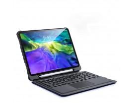 Husa Duxducis Touch Cu Tastatura Wireless Pentru iPad Air 4 2020, Negru