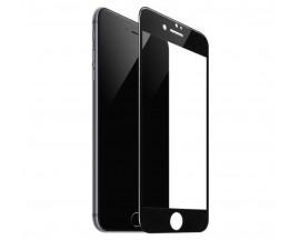 Folie Sticla Securizata Premium Full Cover Hoco Compatibila Cu iPhone 7 / 8 / Se 2 ( 2020 ), Transparenta Cu Margine Neagra
