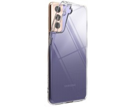 Husa Premium Ringke Air Pentru Samsung Galaxy S21+ Plus, Silicon, Transparenta