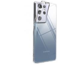 Husa Premium Ringke Air Pentru  Samsung Galaxy S21 Ultra, Silicon, Transparenta