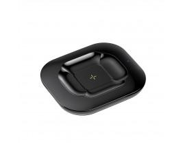 Incarcator Wireless Remax Compatibil Cu Castile Airpods  Si Telefoane 10W, Negru