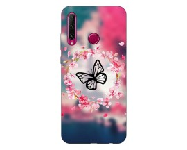 Husa Silicon Soft Upzz Print Compatibila Cu Huawei Y6P Model Butterfly