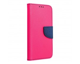 Husa Flip Carte Upzz Fancy Book Compatibila Cu Samsung S8, Roz