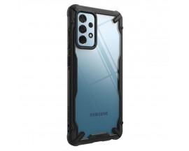 Husa Premium Ringke Fushion X Compatibila Cu Samsung Galaxy A52 5g, Transparenta Cu Margine Neagra