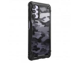 Husa Premium Ringke Fushion X Compatibila Cu Samsung Galaxy A32 5G, Negru Camo