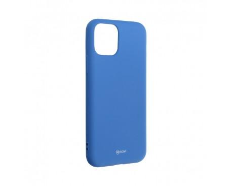 Husa Spate Silicon Roar Jelly Compatibila Cu iPhone 11 Pro, Navy Albastru