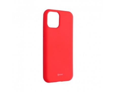 Husa Spate Silicon Roar Jelly Compatibila Cu iPhone 11 Pro Max, Roz Piersica