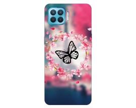 Husa Silicon Soft Upzz Print Compatibila Cu Oppo Reno 4 Lite Model Butterfly