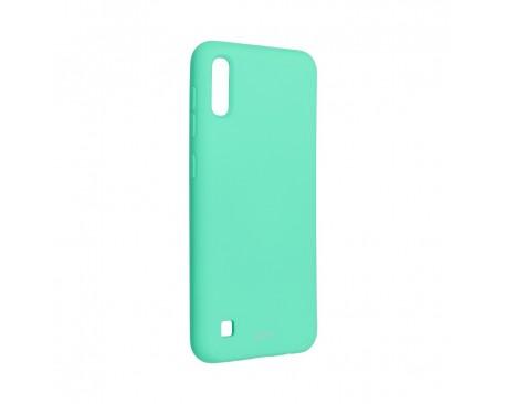 Husa Spate Silicon Roar Jelly Compatibila Cu Samsung Galaxy A10, Verde Menta