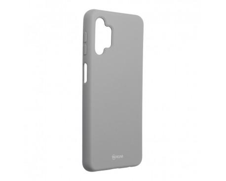 Husa Spate Silicon Roar Jelly Compatibila Cu Samsung Galaxy A32 5G, Gri