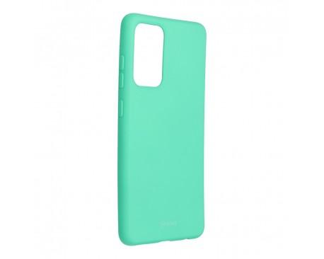 Husa Spate Silicon Roar Jelly Compatibila Cu Samsung Galaxy A52 5G, Verde Menta