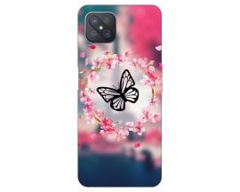 Husa Silicon Soft Upzz Print Compatibila Cu Oppo Reno4 Z 5G Model Butterfly