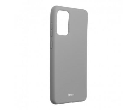 Husa Spate Silicon Roar Jelly Compatibila Cu Samsung Galaxy A72 5G, Gri