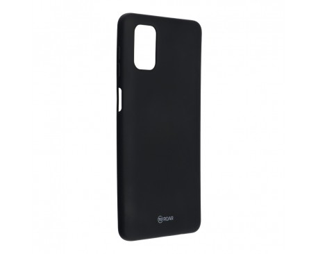 Husa Spate Silicon Roar Jelly Compatibila Cu Samsung Galaxy M51, Negru