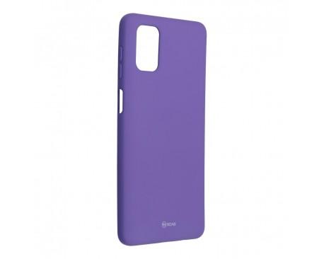 Husa Spate Silicon Roar Jelly Compatibila Cu Samsung Galaxy M51, Mov