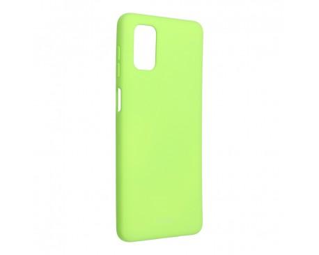 Husa Spate Silicon Roar Jelly Compatibila Cu Samsung Galaxy M51, Verde Lime