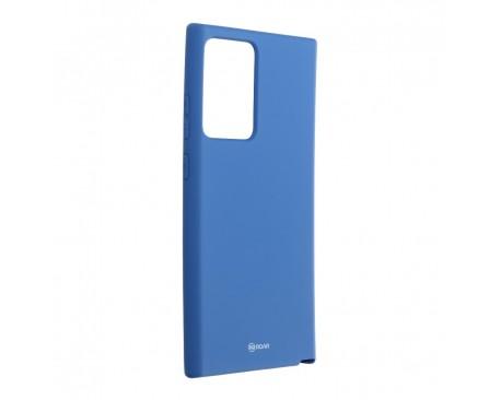 Husa Spate Silicon Roar Jelly Compatibila Cu Samsung Galaxy Note 20 Ultra, Navy Albastru