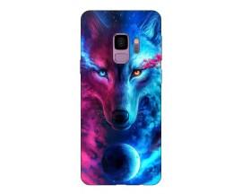 Husa Silicon Soft Upzz Print Compatibila Cu Samsung Galaxy S9 Model Wolf